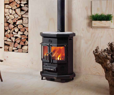 Newbridge Gas - Wood Burning Stoves - Brande 82 Wood Burning Stove